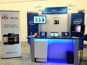 MobBase booth at Intel Developer Forum